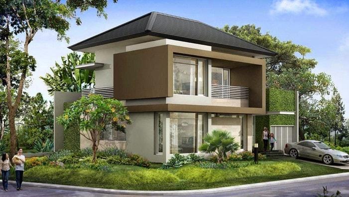 Rumah Dengan Gaya Country di lombok
