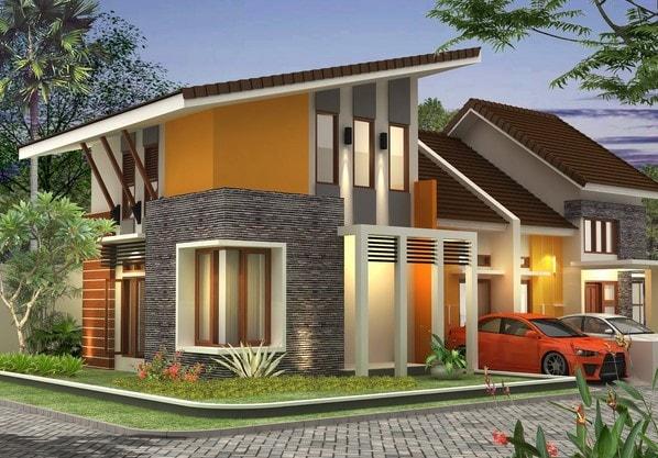 bentuk atap rumah minimalis lombok