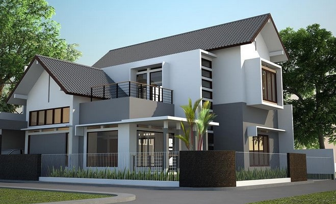 contoh rumah minimalis lombok