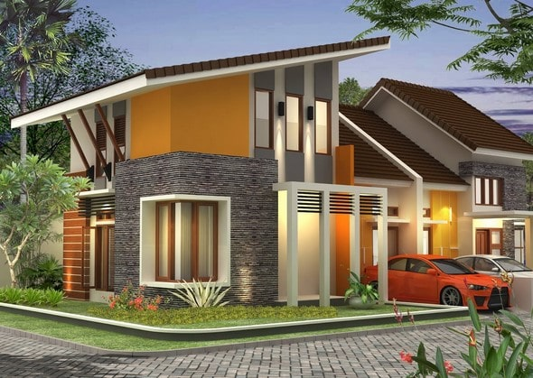 desain pengembangan rumah type 36 lombok