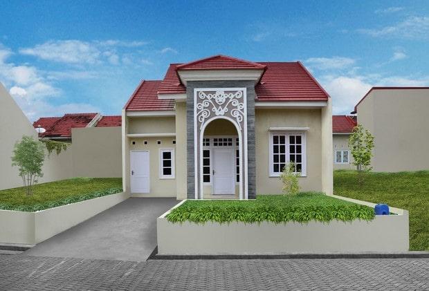desain ruangan rumah type 36 di lombok