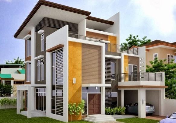desain rumah idaman 2 lantai di lombok
