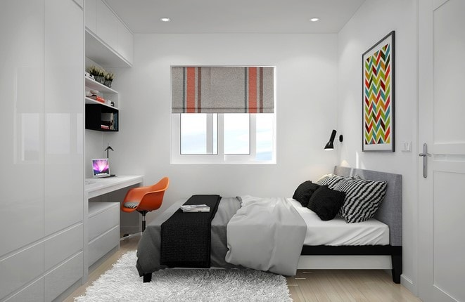 kamar tidur minimalis lombok