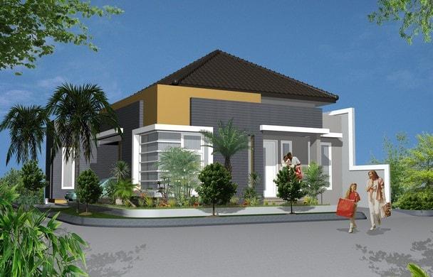 model rumah tipe 120 di lombok