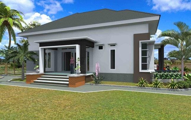 renovasi rumah type 45 di lombok