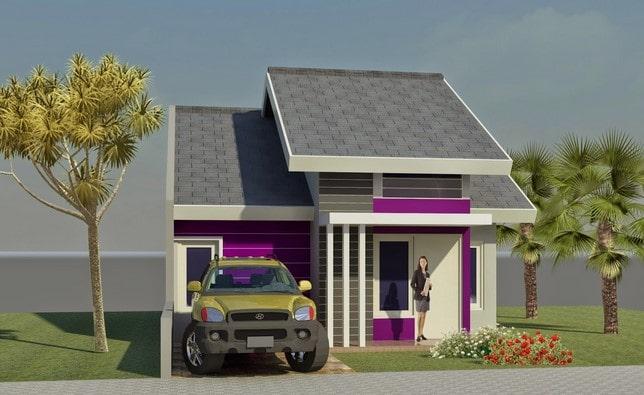 rumah minimalis di lombok 1 lantai