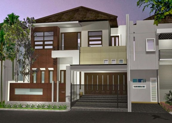 rumah minimalis di lombok tipe 120