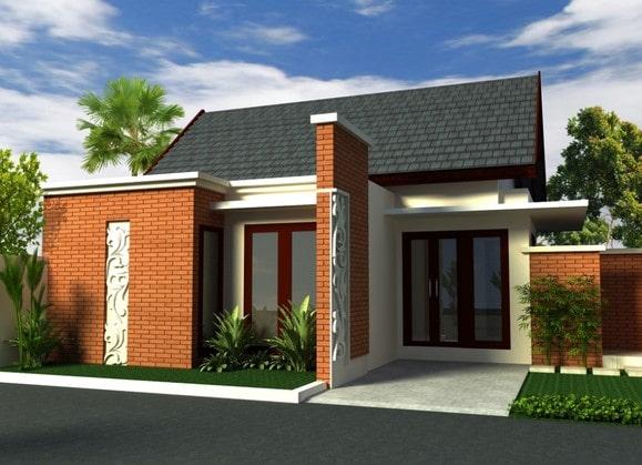 rumah minimalis di lombok tipe 21