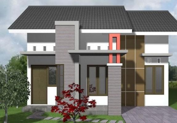 rumah minimalis di lombok tipe 36