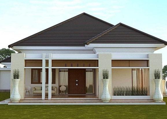 rumah minimalis di lombok tipe 45