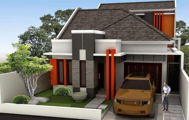 rumah minimalis di lombok tipe 54
