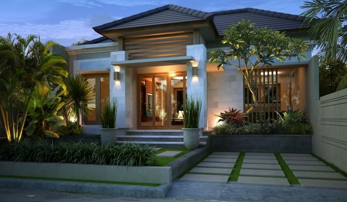 rumah minimalis di lombok tipe 60