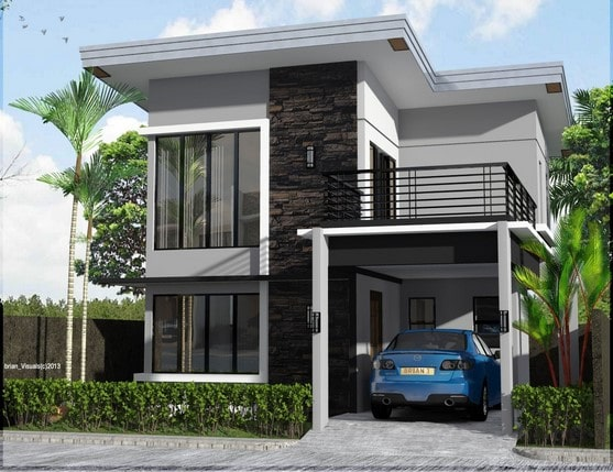 rumah minimalis modern di lombok