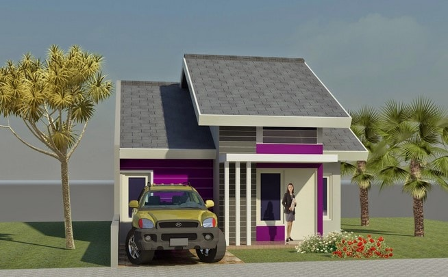 rumah minimalis tipe 21 di lombok