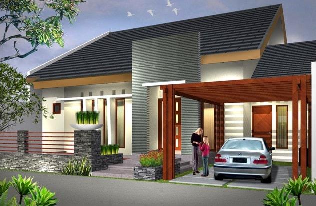 rumah minimalis tipe 54 di lombok