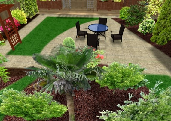 taman halaman rumah minimalis lombok