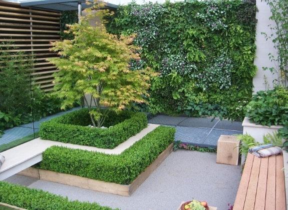 taman rumah minimalis sederhana lombok