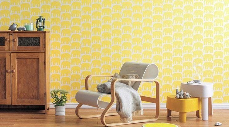 wallpaper dinding rumah lombok