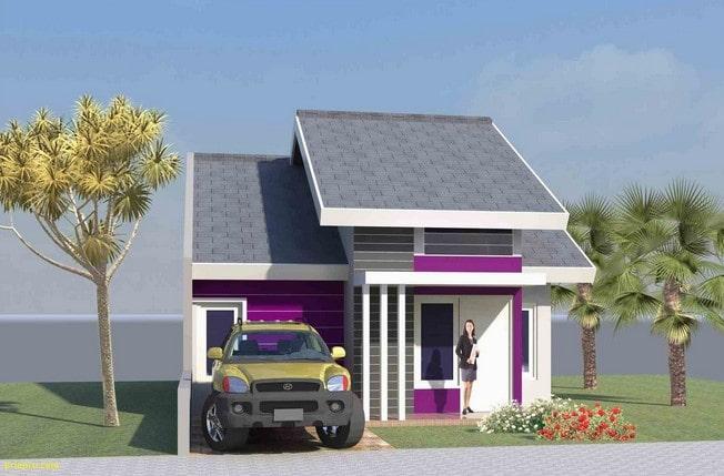 Rumah type 45 minimalis modern lombok