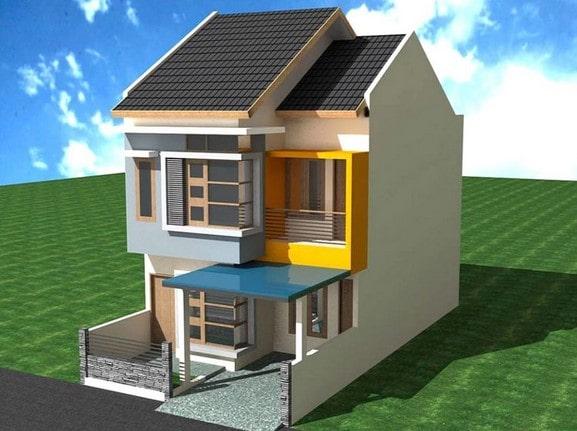 Type rumah minimalis 2 lantai lombok