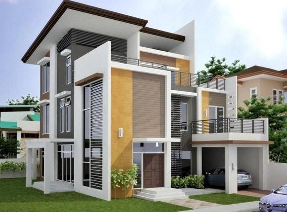desain denah rumah minimalis lombok