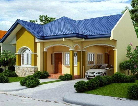 desain denah rumah sederhana lombok