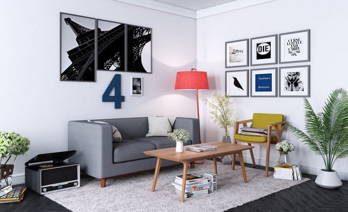 desain interior minimalis lombok