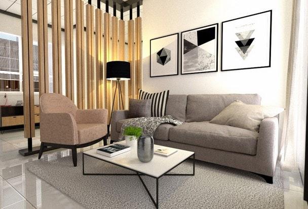 desain ruangan dalam rumah di lombok