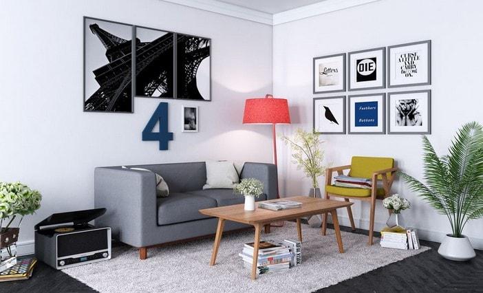 desain ruangan rumah lombok