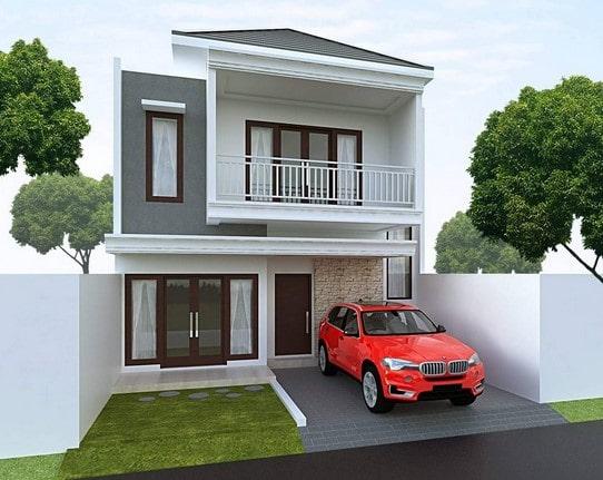rumah type 36 minimalis 2 lantai di lombok