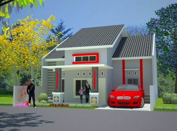type rumah minimalis di lombok